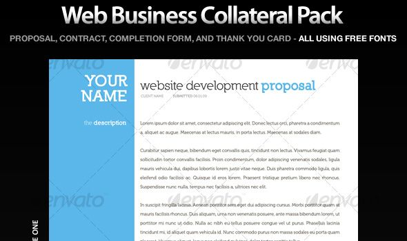 Professional Proposal and Invoice Templates - Professional Quote Template
