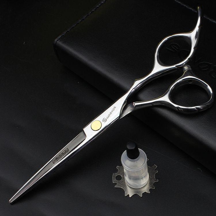 Hair scissors hairdressing scissors 6 INCH Purple dragon hair shears ciseaux coiffure tijeras Simple packing