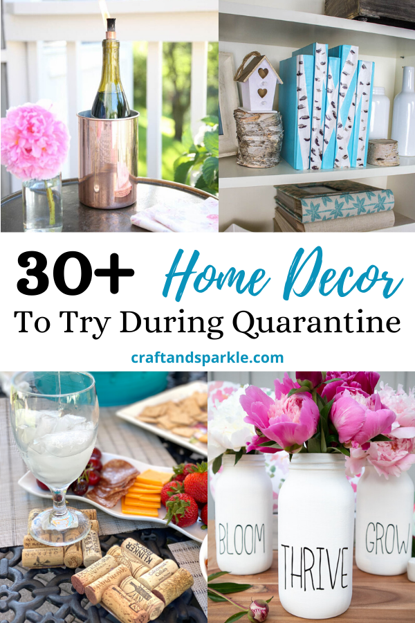 Stuck at home? Here are 30+ DIY home decor projects you
