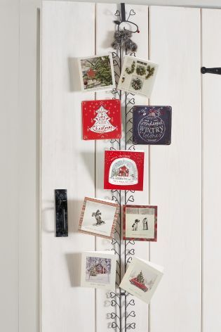 Looking for the perfect place to hold your cards this for Door xmas card holders