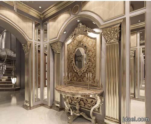 ديكورات قصور وافخم اسقف الجبس للتصاميم الداخليه للقصر لمهندسين سعوديين منتدى جدايل Elegant Interior Design Luxury Mansions Interior Luxury Interior Design