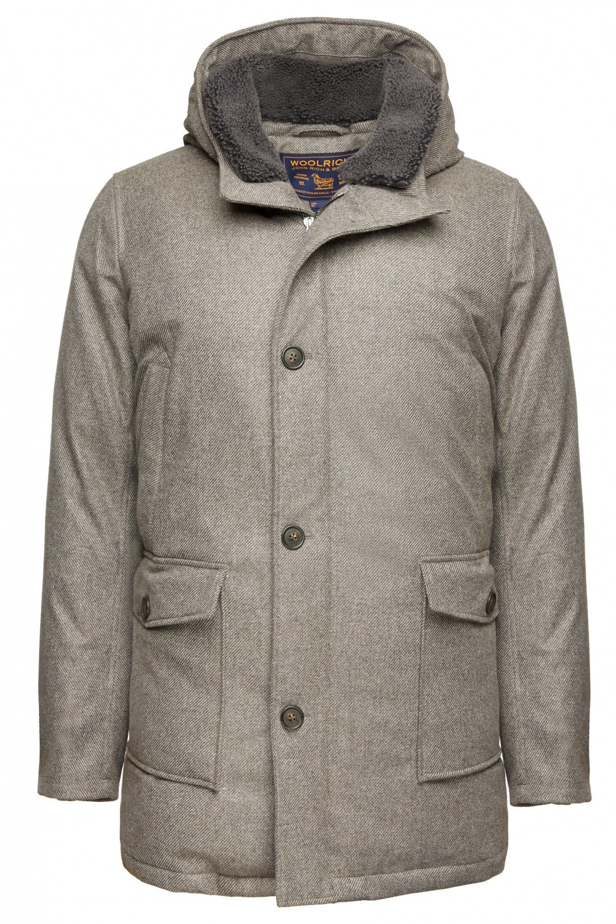 774bf869 Only 35 pieces of this exclusive Woolrich Club Monaco Men's Mackinaw Parka  were produced. Made