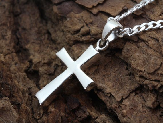 Sterling silver cross necklace sterling cross cross necklace sterling silver cross necklace sterling cross cross necklace graduation gift cross jewelry choose italian chain i 5101 aloadofball Images