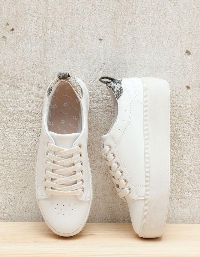 a910bd1f417 All - WOMAN - Shoes - Bershka Sweden
