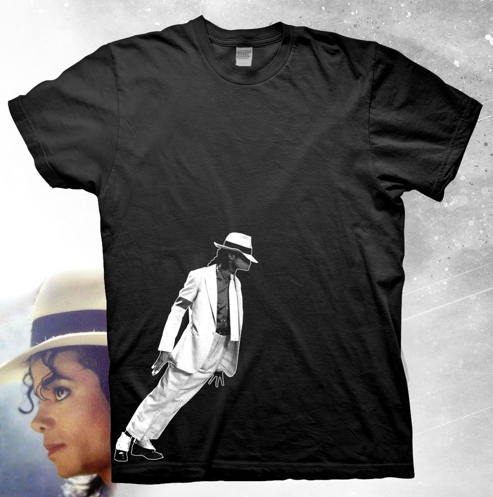 0ca114eba88b Michael Jackson Smooth Criminal Lean High Quality T-Shirt  PortCompany   GraphicTee