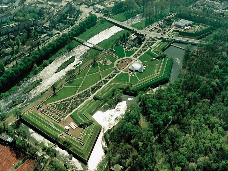 Bruckenkopfpark Stadtgarten Luftbild Bruckenkopf Luftbild Bilder