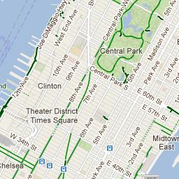 NYC Bike Maps | New York City Trip | Pinterest | Manhattan, Paths ...