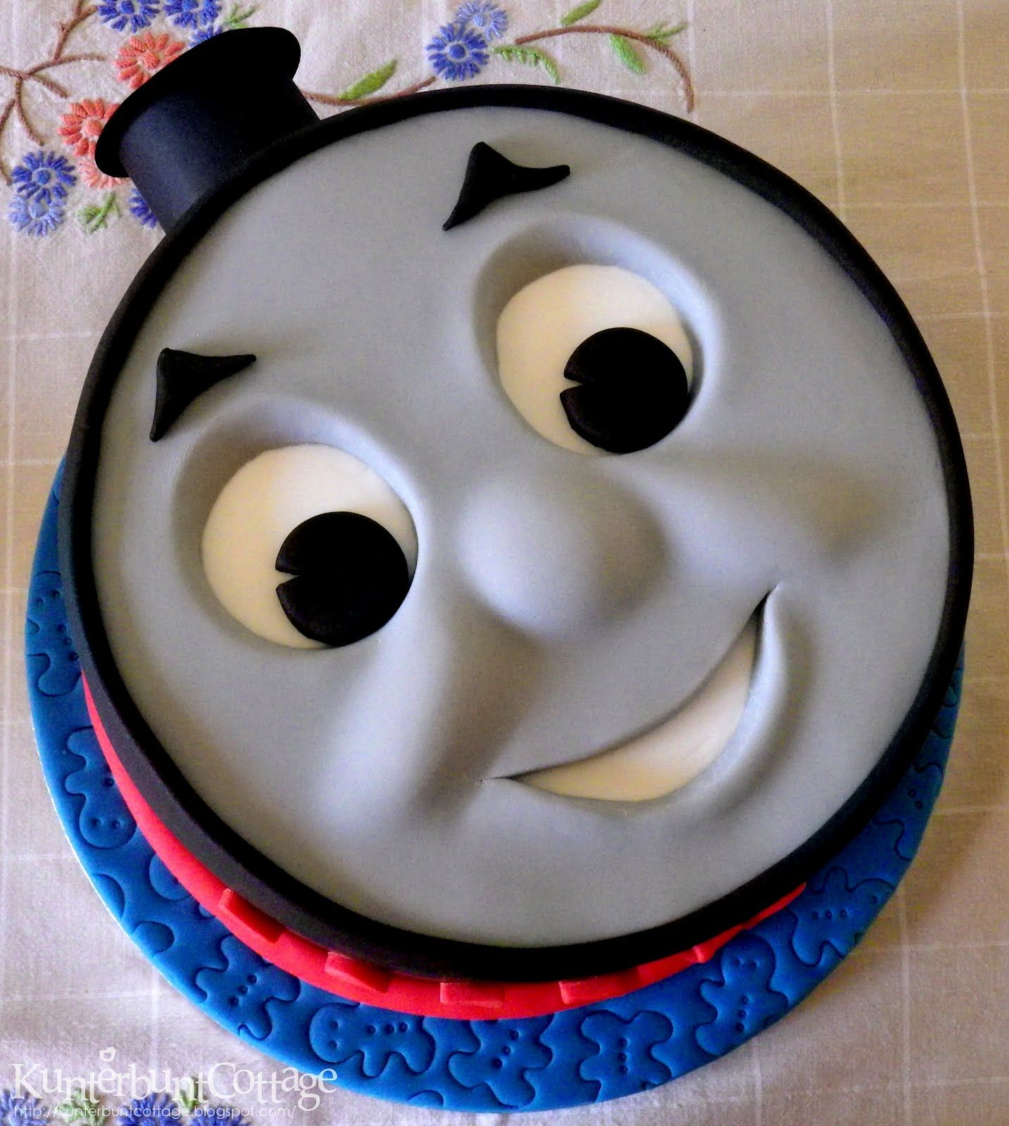 Thomas The Tank Cake For Ollie