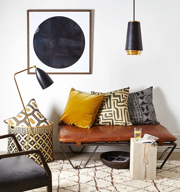 15 Ideen Für Exklusive Wanddekoration Mit Quadraten: Get The Look Of Modern Nomad!