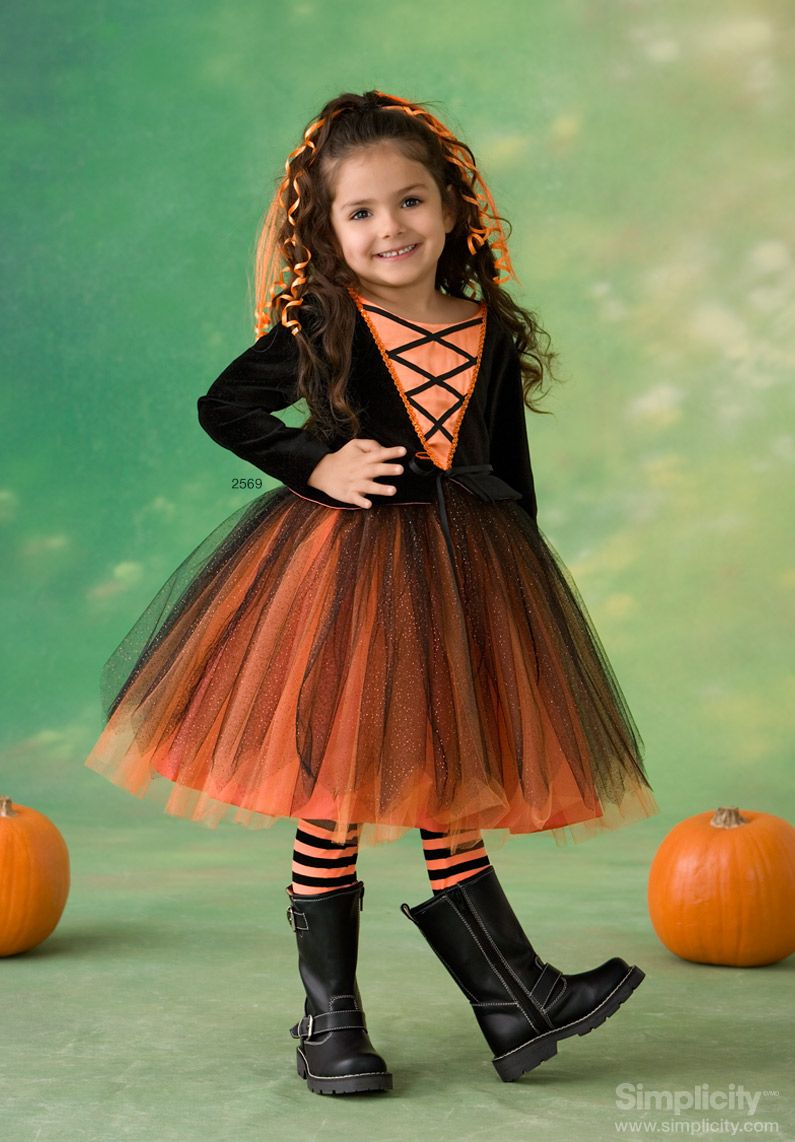 Little girl pumpkin princess costume! #Halloween #SimplicityPattern  sc 1 st  Pinterest & Little girl pumpkin princess costume! #Halloween #SimplicityPattern ...