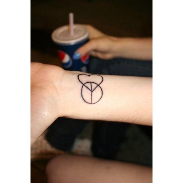 70 Cute Peace Tattoos: Tattoos, Love Tattoos, Peace