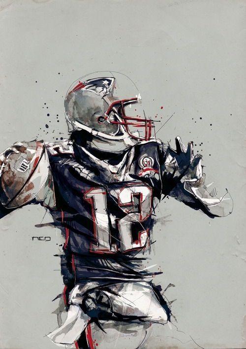 Tom Brady New England Patriots Football Patriots Football