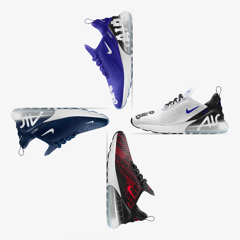 Habt ihr euch schon die verrückten Nike Air Max 270 iD Optionen