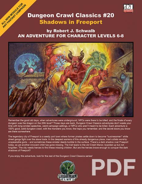 Rpg dungeon crawl pdf classics
