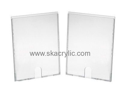 custom acrylic wall mounted sign frames 8 x 11 plastic sign holder lucite holder sh