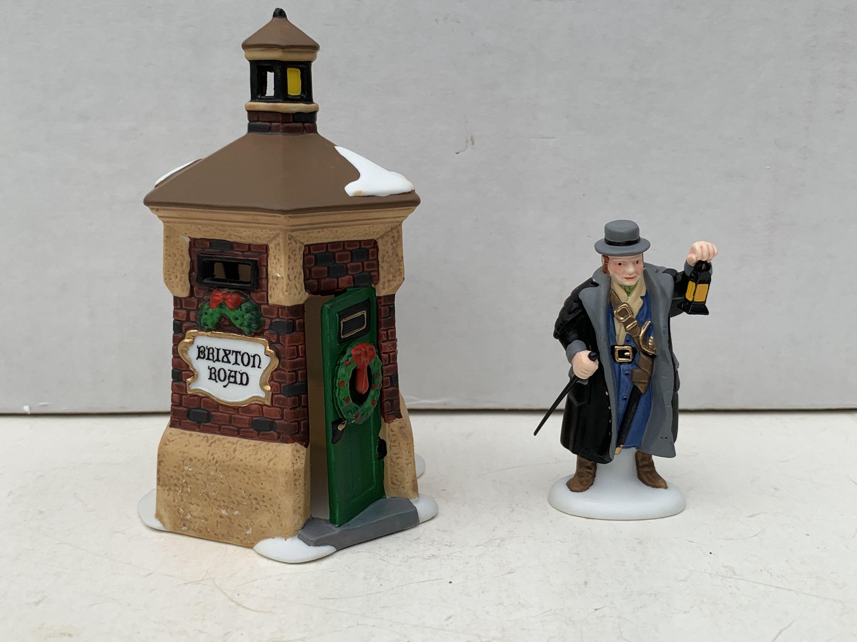 58390 Dept 56 Heritage Village Brixton road Watchman