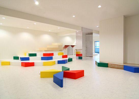 school interiors, interior design, Moriyuki Ochiai Architects ...