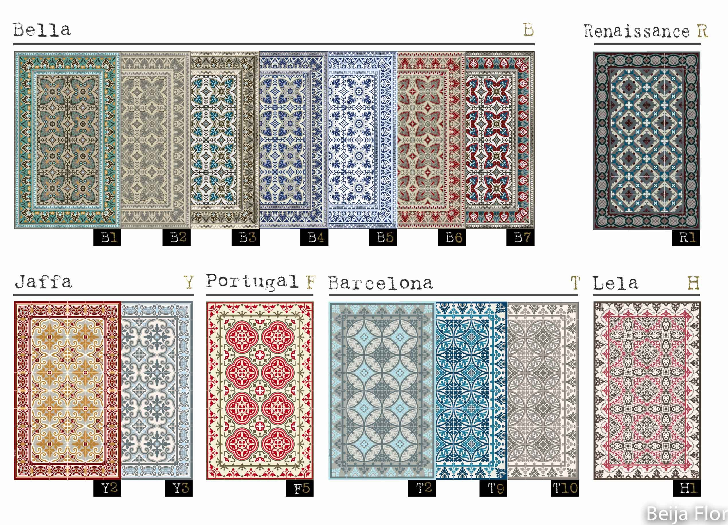 tapis beija effet carreaux de ciment chez moi pinterest sol y mosaicos. Black Bedroom Furniture Sets. Home Design Ideas