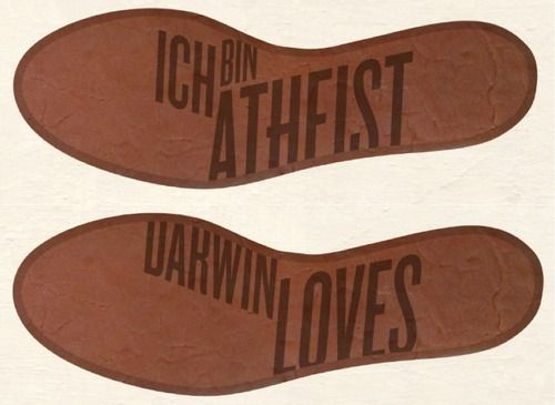 Atheist Shoes.