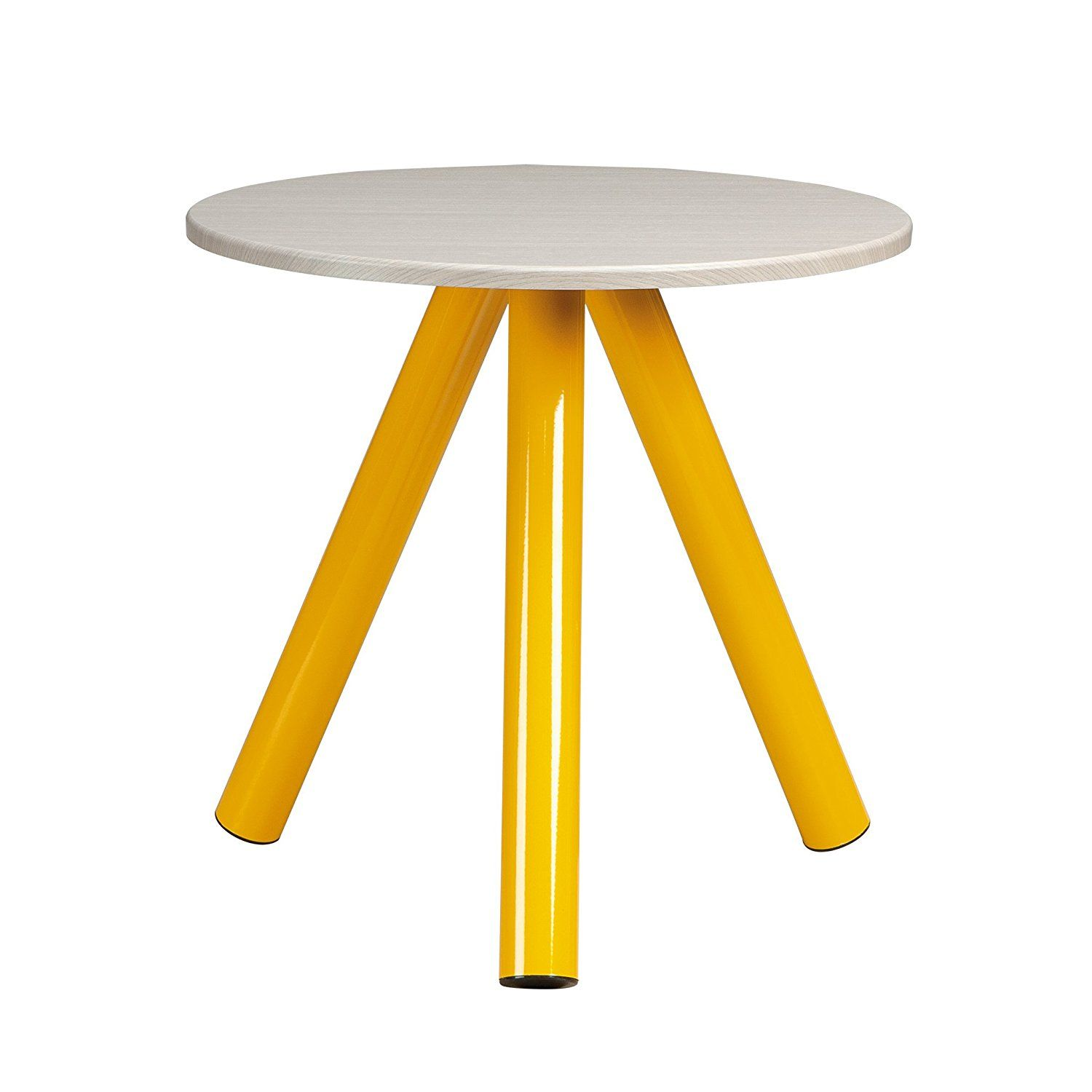 Amazon Com Sauder Soft Modern Collection Side Table Yellow X2f White Kitchen Amp Dining Modern Side Table Side Table Living Room Decor Furniture [ 1500 x 1500 Pixel ]