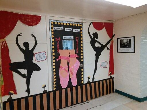 Classroom Door Decoration Ideas For Black History Month ~ Misty copeland theme for black history month classroom