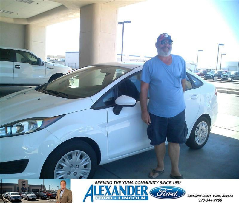 Congratulations To Joseph Baker On Your Ford Fiesta Purchase