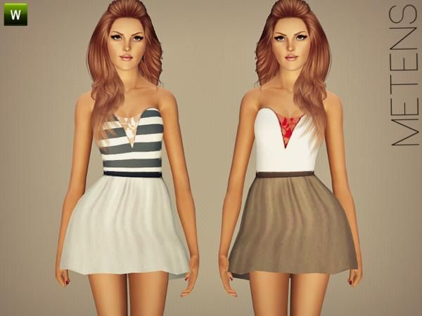 Spotlight dress by Metens - Sims 3 Downloads CC Caboodle