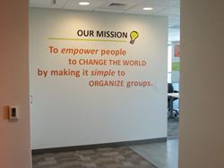 Mission Statement Vinyl Lettering Example With Logo Or Graphic Added Read  More About The Importance Of