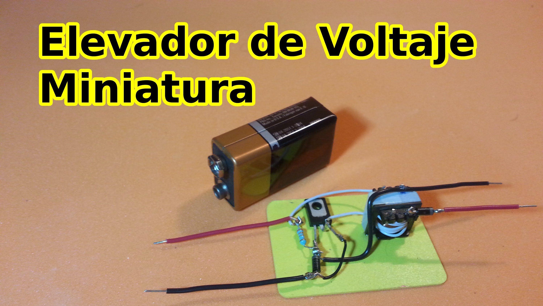 Elevador De Voltaje Miniatura Electricidad Y Electronica Componentes Electronicos Proyectos Electronicos