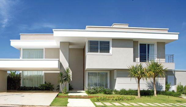 Fachadas de casas quadradas veja 40 modelos dos sonhos for Casa moderna 4279