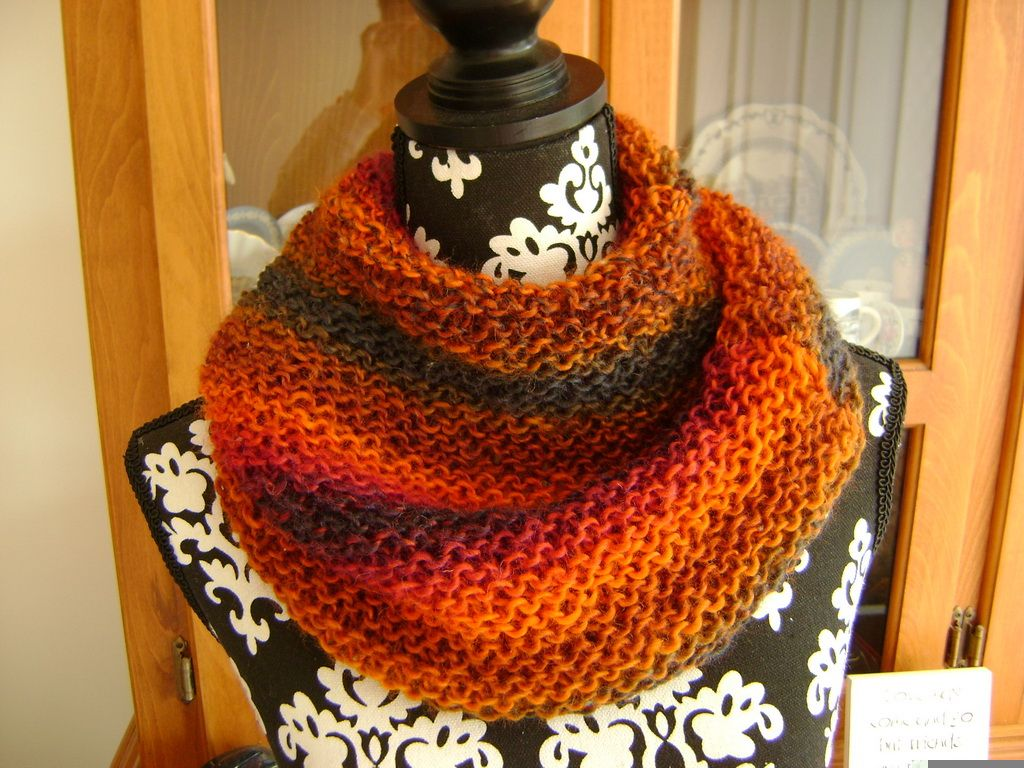 Easy Snuggly Cowl Knitting Pattern MelsNattyKnits Knitting ...