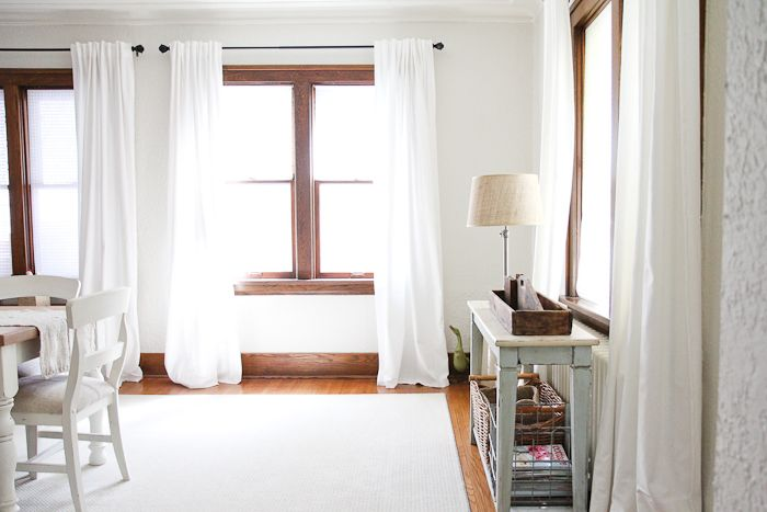 The Simple Things Home Furniture Color Schemes White Sheer