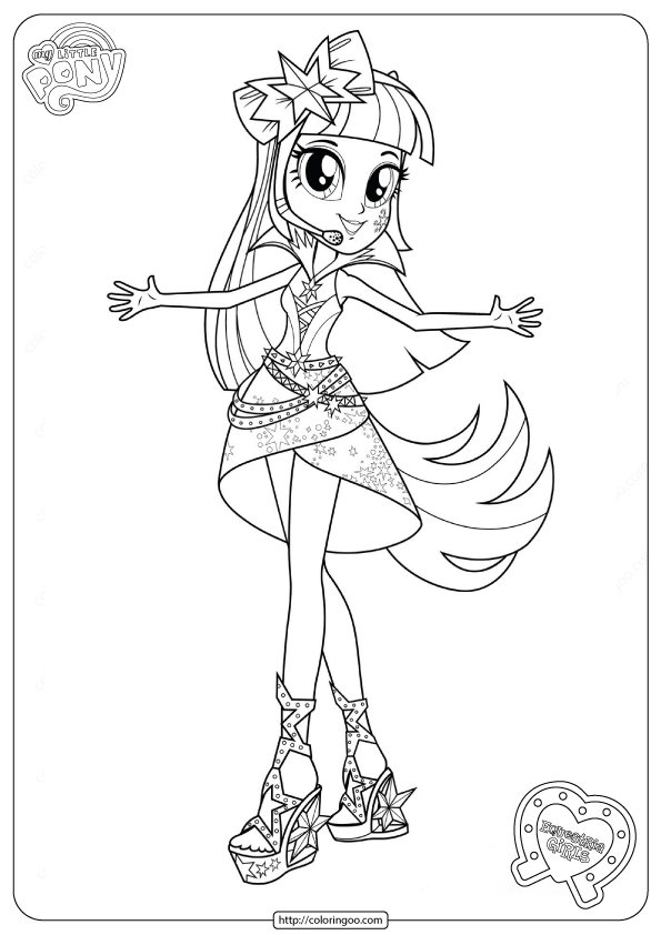 Equestria Girls Twilight Sparkle Coloring Pages : equestria, girls, twilight, sparkle, coloring, pages, Equestria, Girls, Coloring, Rainbow, Rocks, Little, Coloring,, Girls,, Pages