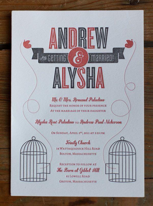a showcase of creative wedding invitations invitation design