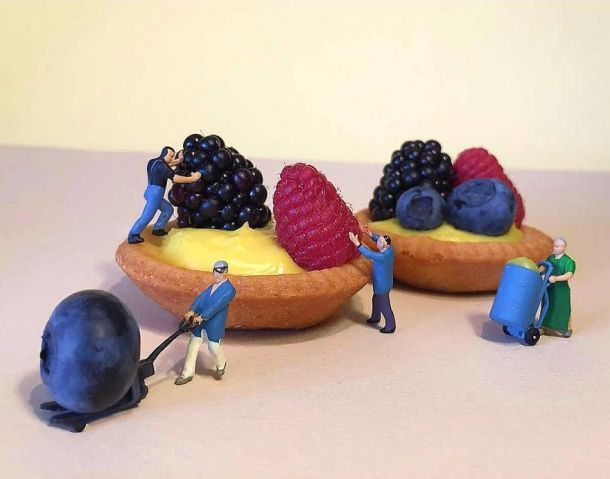 Matteo Stucchi Italian Pastry Chef Creates Miniature Worlds With Desserts