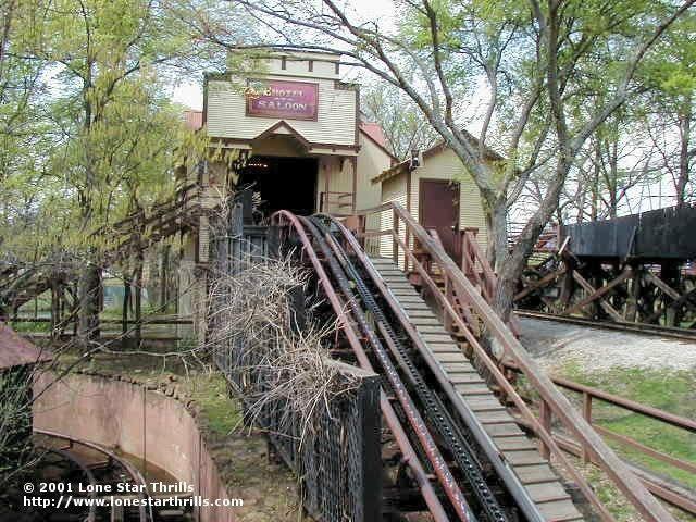 Runaway Mine Train Six Flags Over Texas Arlington Texas Usa Six Flags Over Texas Abandoned Theme Parks Six Flags