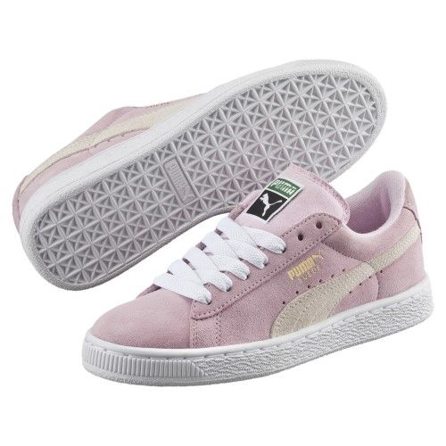 pas mal cb23b eed07 Puma Boys' Suede PS Sneaker, Size: 1, Pink in 2019 ...