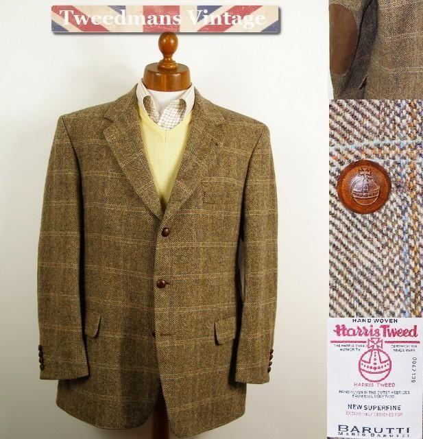 mario barutti harris tweed mens jacket with elbow patches  damen jacken tweed jacken c 1_13 #7