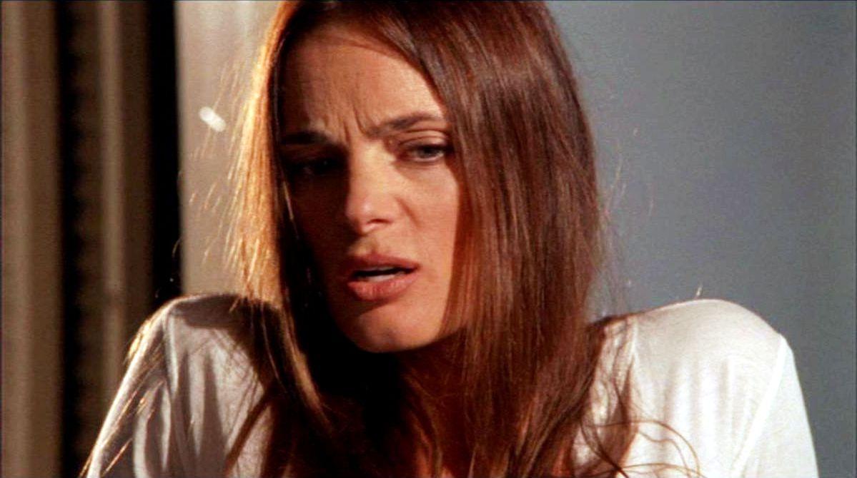 """You'll owe me dinner. "" [Fi Glenanne]  ""Fine."" [Michael Westen]   Pictured: Fiona Glenanne (Gabrielle Anwar)"