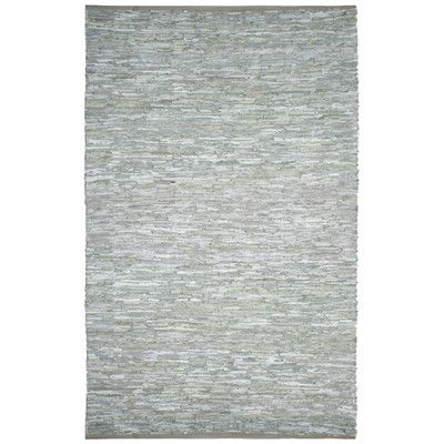 St Croix Matador Leather Chindi Grey Area Rug Reviews Wayfair