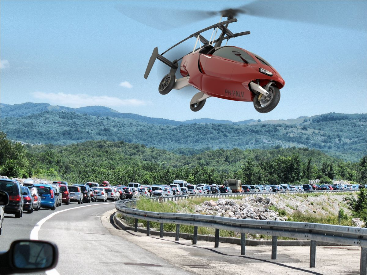 Flying Cars now a Reality with PALV Flying car
