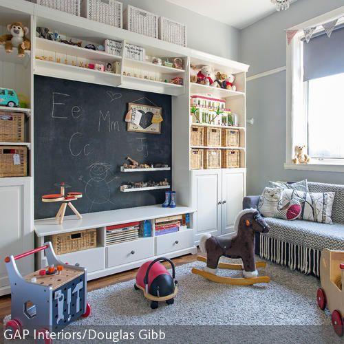 Spielerisch lernen l sst es sich mit dieser tafelwand - Tafelwand kinderzimmer ...