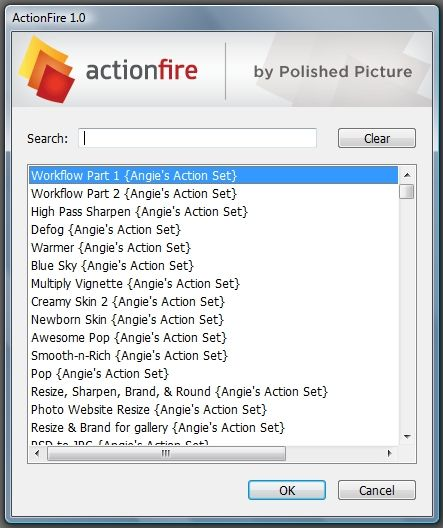 ActionFire - run Photoshop actions faster