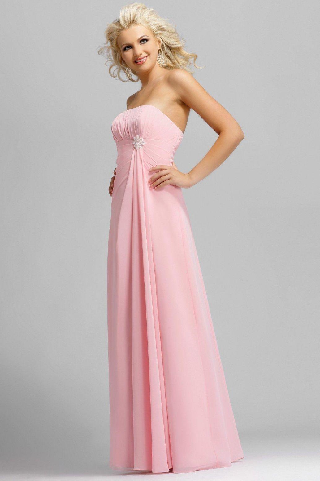 IMAGES bridesmaid dresses | Long Bright Pink Bridesmaid Dress ...