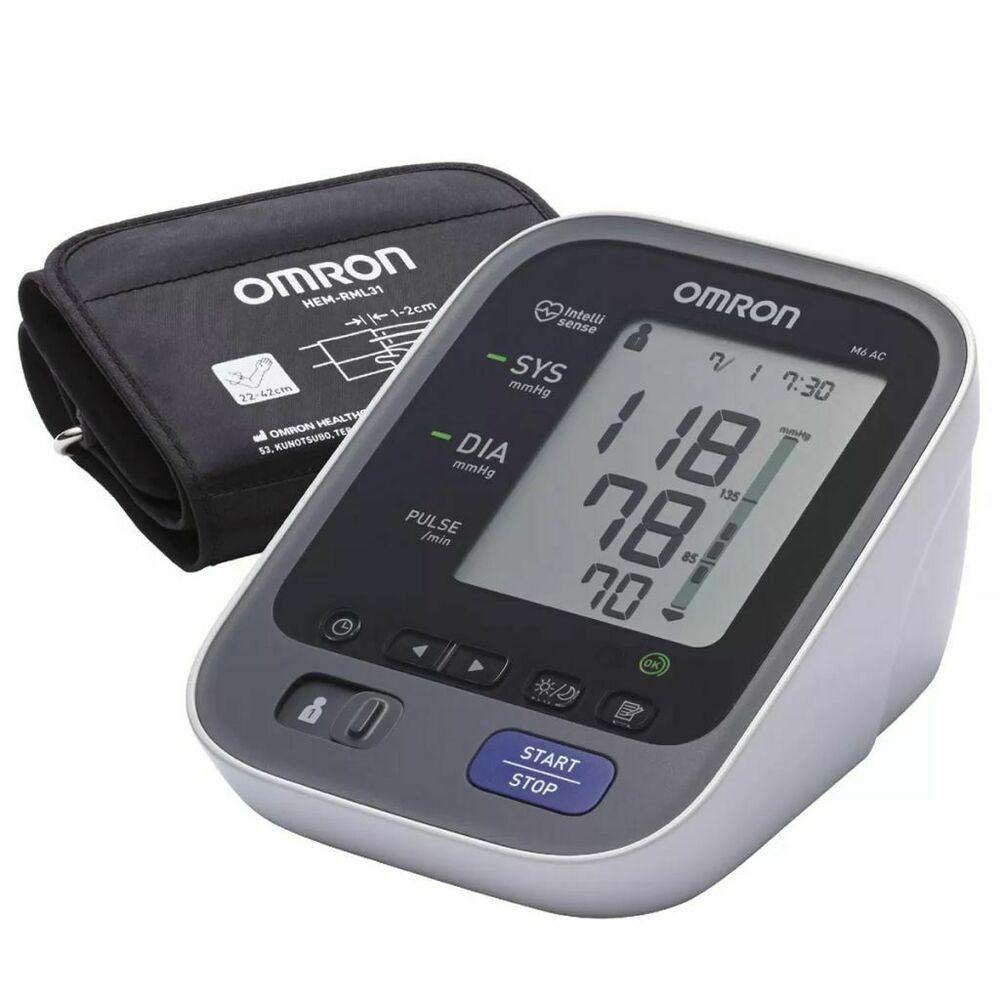 eBay #Sponsorato Omron Monitor per la pressione arteriosa nella parte superiore del braccio Rilevazione dell'aritmia Sangue …