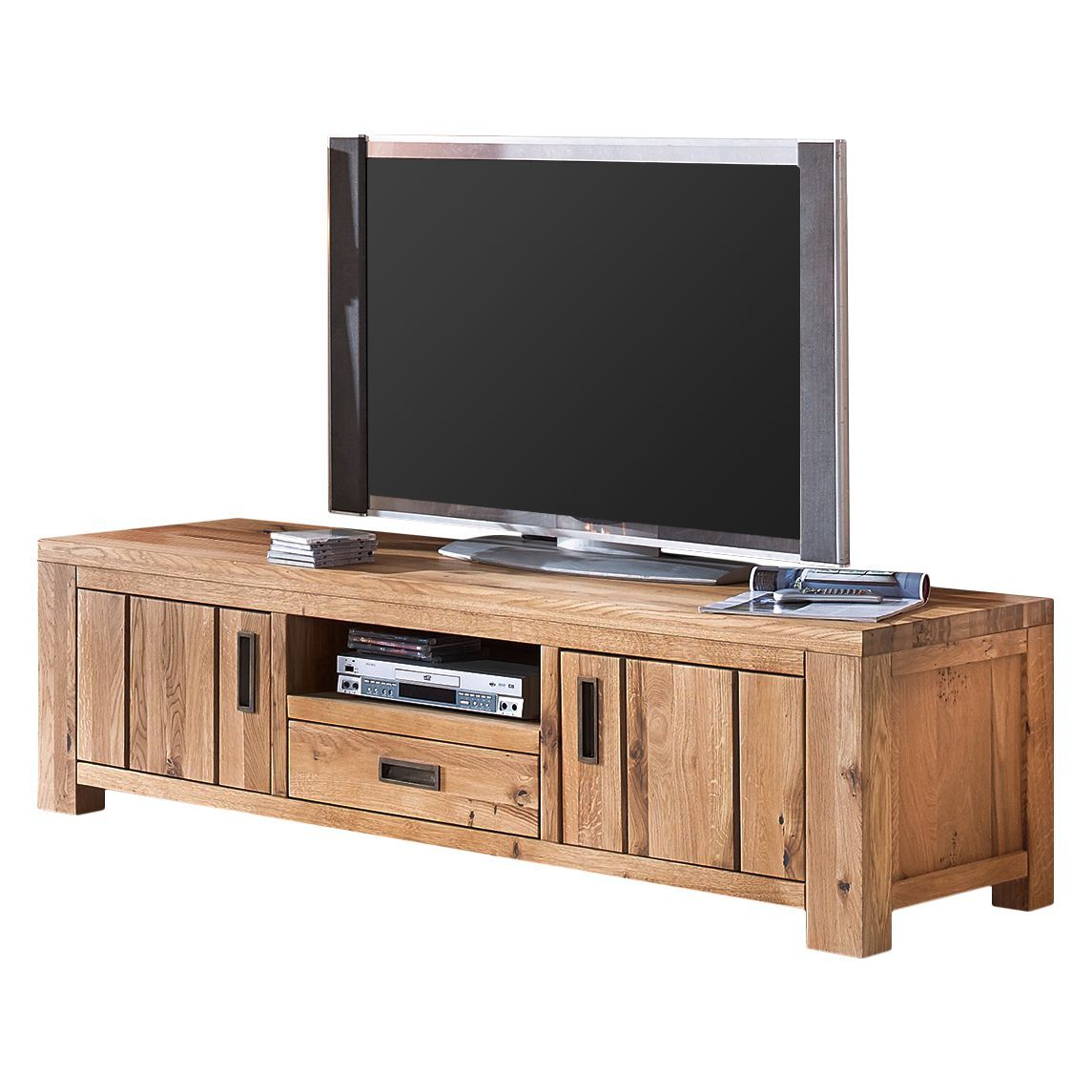 tv lowboard lessebo wildeiche massiv ars natura jetzt. Black Bedroom Furniture Sets. Home Design Ideas