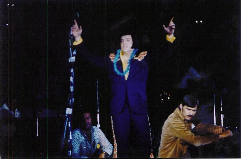 On May 7th 1975 (Murfreesboro, TN) Elvis for the last time