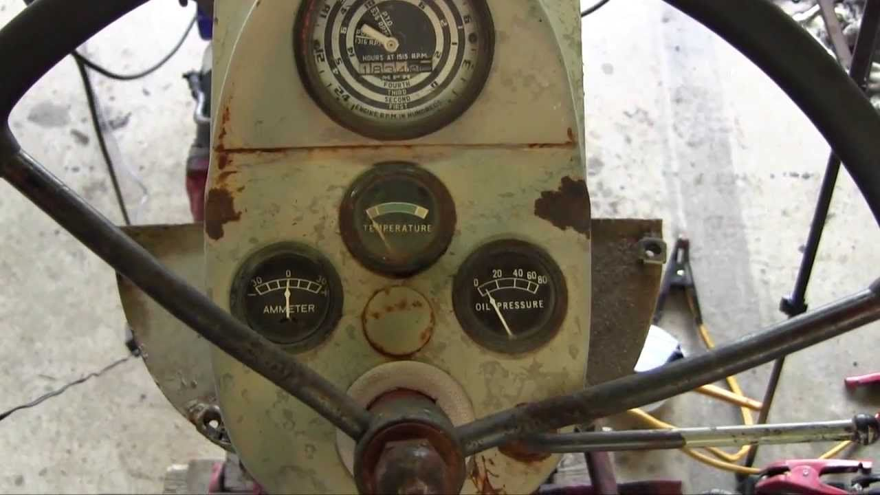 Ford Jubilee Naa Tractor Engine Rebuild Part 15 Coil Distributor