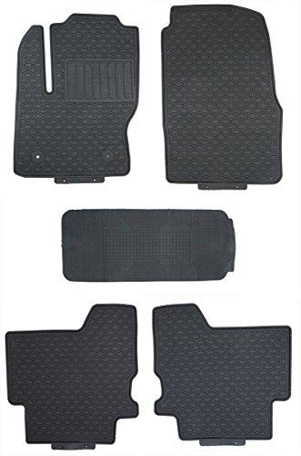 FORD B-MAX 2012-2015 TAILORED FLOOR CAR MATS CARPET BLACK MAT BLACK TRIM