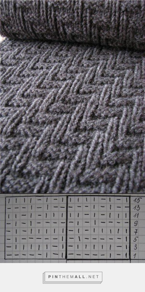 Here is an easy knitting pattern that is perfect for a man\'s scarf ...